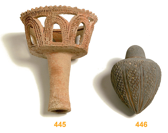 A Talmudic Period Terracotta Torch (#27-445) < Auctions ...