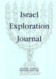 Israel Exploration Journal, Volume 51, Number 1,  2001, Pp 96-9