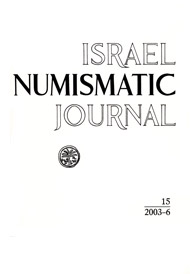 Israel Numismatic Journal, 15, 2003-6