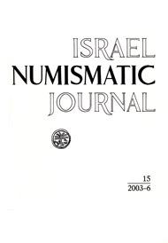 Israel Numismatic Journal, 15, 2003-6