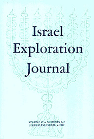 Israel Exploration Journal, Volume 47, Numbers 1-2, 1997, Pp. 111-2
