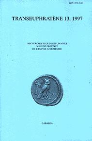 Transeuphratene, Vol 13, 1997, Pp 17-20