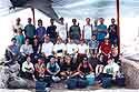 Area K Team, Megiddo, 1996