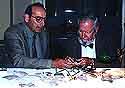 Robert Deutsch with Frank Moore Cross