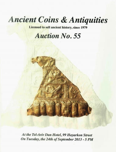 Cover image of Archaeological Center, Auction #55, Ancient Coins & Antiquities (#55)