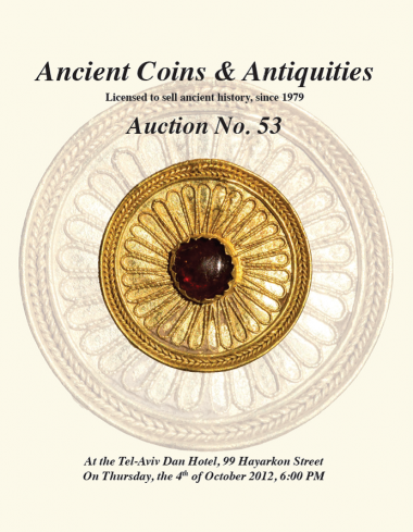 Cover image of Archaeological Center, Auction #53, Ancient Coins & Antiquities (#53)