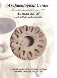 Cover image of Archaeological Center Auction #47, Ancient Coins & Antiquities