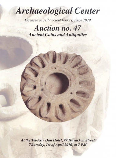 Cover image of Archaeological Center, Auction #47, Ancient Coins & Antiquities