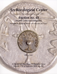 Cover image of Archaeological Center Auction #48, Ancient Coins & Antiquities