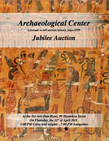 Cover image of Archaeological Center, Auction #50, Ancient Coins & Antiquities