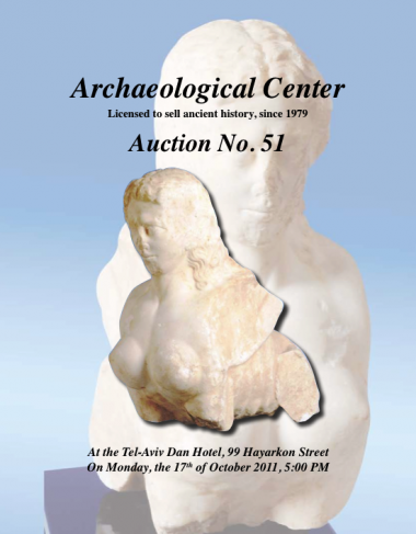 Cover image of Archaeological Center, Auction #51, Ancient Coins & Antiquities