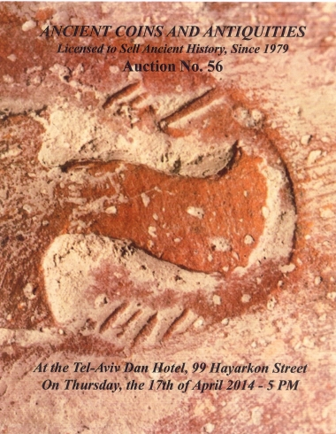 Cover image of Archaeological Center, Auction #56, Ancient Coins & Antiquities (#56)