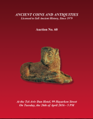 Cover image of Archaeological Center Auction #60, Ancient Coins & Antiquities (#60)
