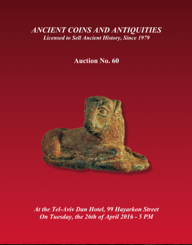 Cover image of Archaeological Center, Auction #60, Ancient Coins & Antiquities (#60)